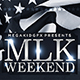 MLK Weekend Flyer Template