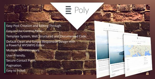 Poly Blogging Platform (Project Management Tools) Download