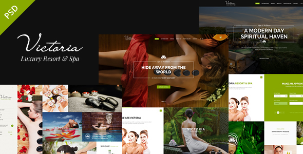 Victoria – PSD Template (Retail) images