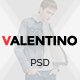 Valentino - Multipurpose eCommerce PSD Template