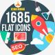 1370 New Flat Icons