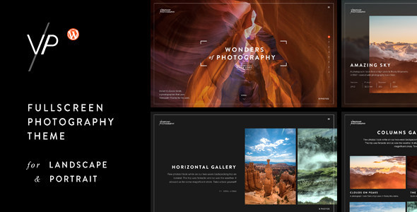 28 - Viewpoint - Fullscreen Photography WordPress Theme