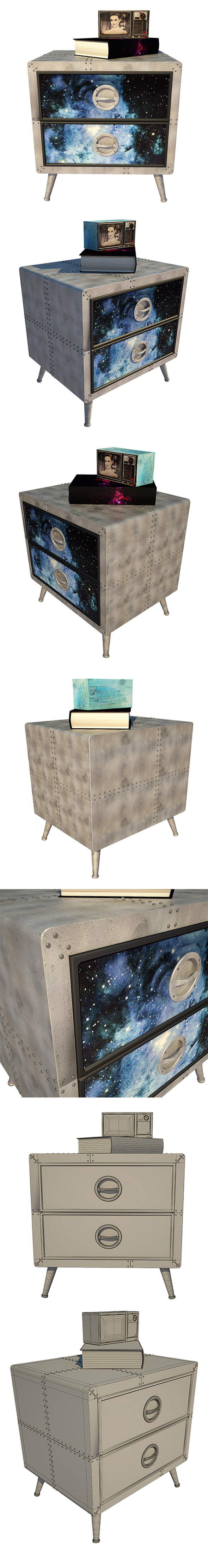 Nightstand Kare Design - 3DOcean Item for Sale
