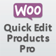 WooCommerce Quick Edit Products Pro
