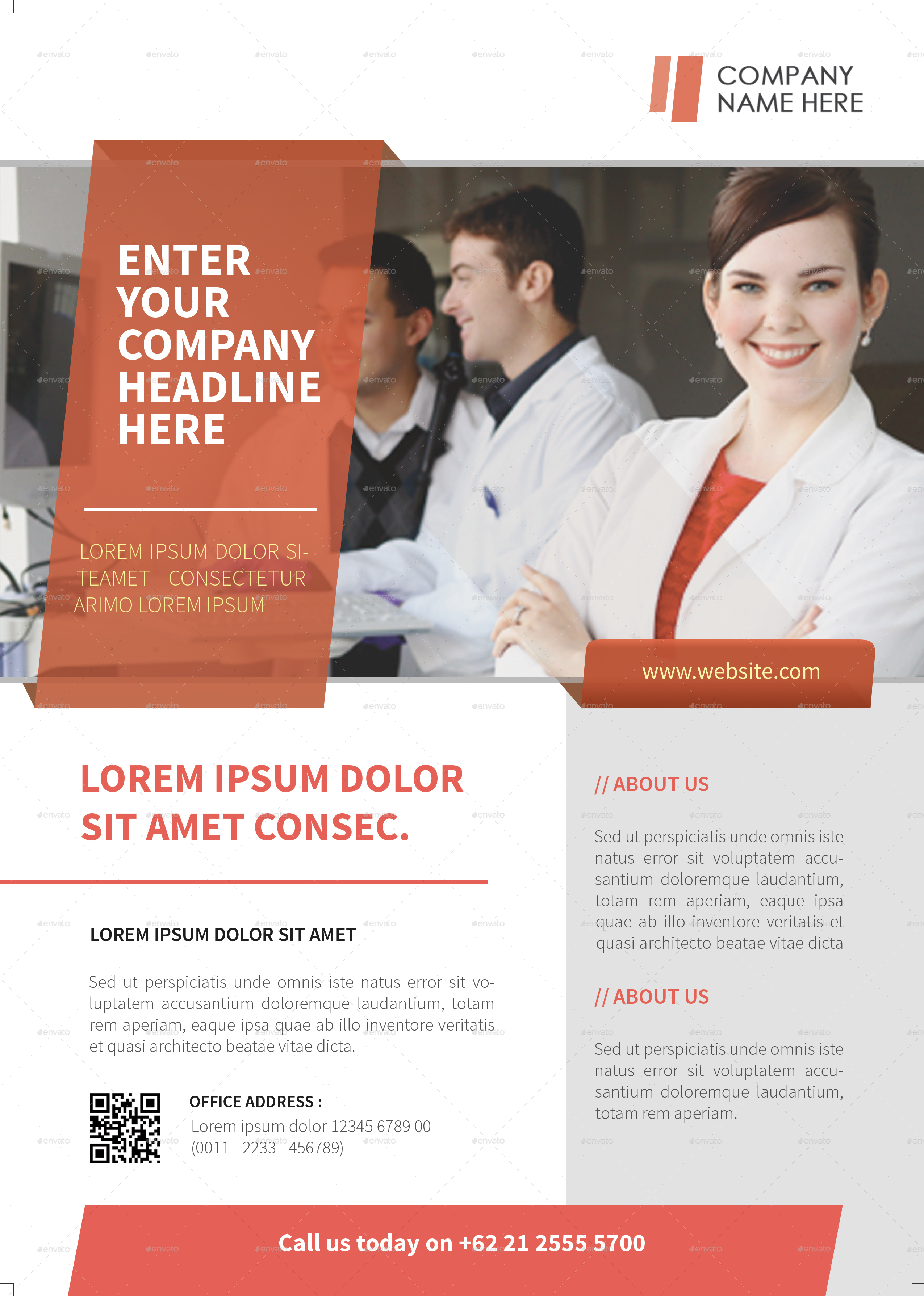 Professional Corporate Flyer by RockGasm – Professional Corporate Flyer