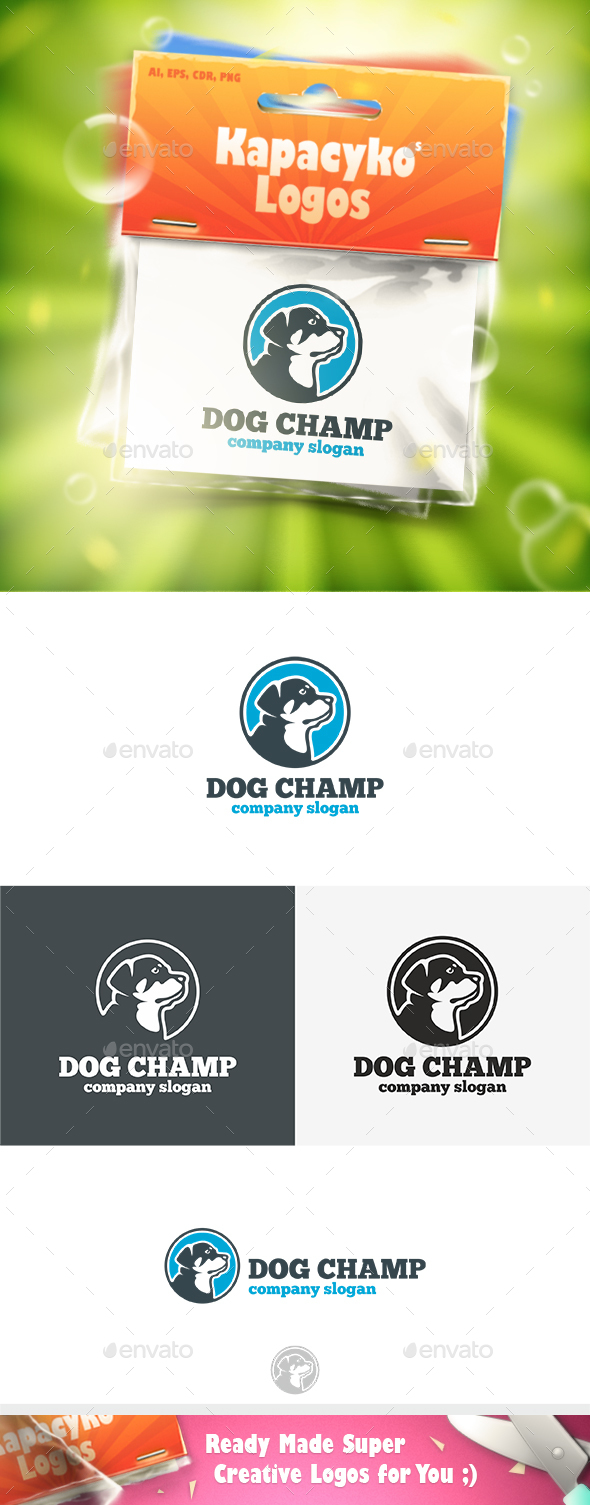 Dog Champ Logo