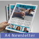 A4 Newsletter Bussiness