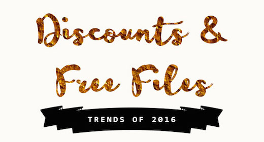Discounts & Free Files wc 18 January