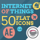 Internet Of Things and Smart Home Icon Set