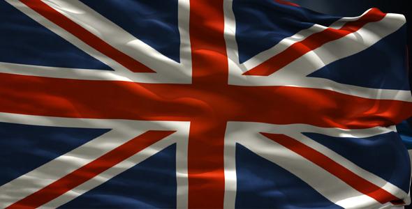 UK Looped Flag