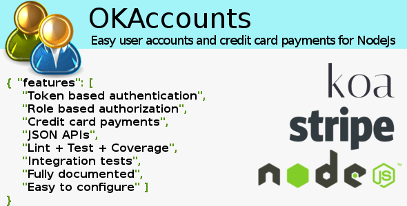 OKAccounts for NodeJS (JavaScript) Download