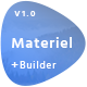 Material - Responsive Email Template + Online Builder