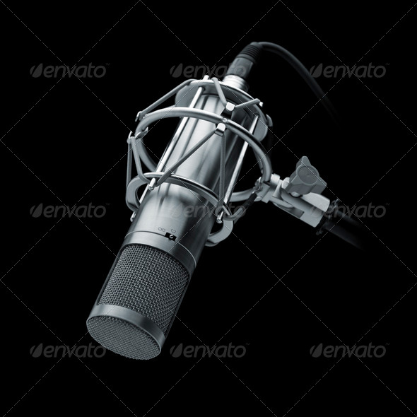 Stock Photo - PhotoDune Studio Microphone 1448036
