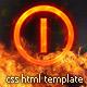 BurnOFF Under Construction XHTML CSS Template