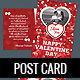 Valentine Day Post Card