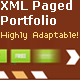 XML Paged Portfolio - for logo, photo, art, design - ActiveDen Item for Sale