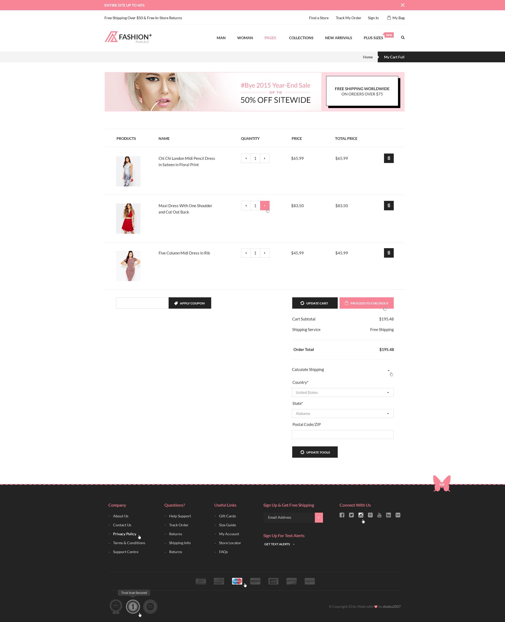 fashionplus fashion ecommerce psd template by diadea 25 my cart full jpg