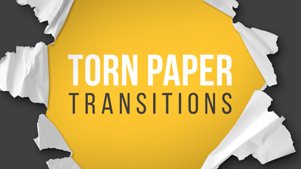 Torn Paper Transitions Reveal Pack By Gerardgerard Videohive