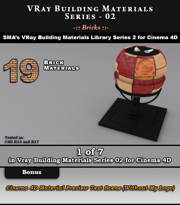 VRay Building Materials S02 - Bricks