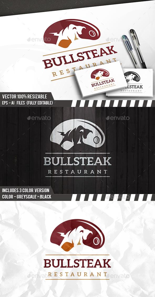 Bull Steak Logo