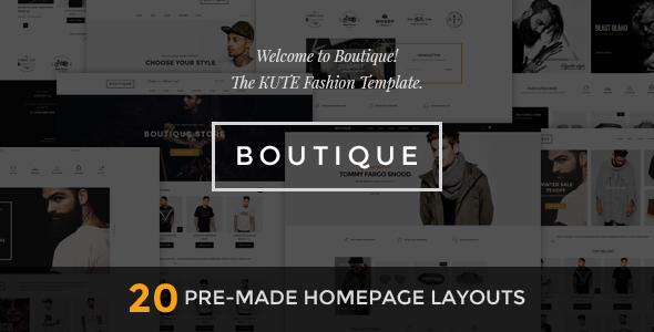 Boutique – Kute Fashion HTML Template (Fashion) Download