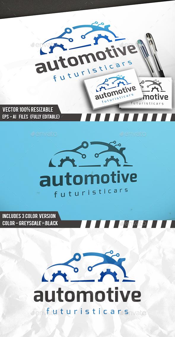 Tech Car Logo