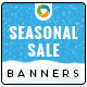 HTML5 Seasonal Sale Banners - GWD - 7 Sizes