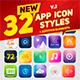 32 Icon App Styles