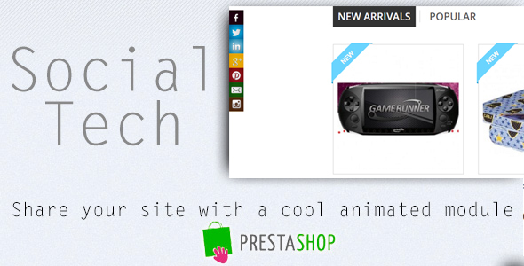 Social Tech / Share Prestashop Module