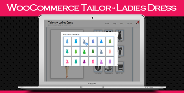 WooCommerce Tailor – Ladies Dress (WooCommerce) Download
