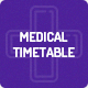 Medical Timetable