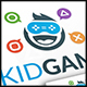 Kid Gamer Logo Template