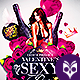 Valentines Sexy Party Flyer