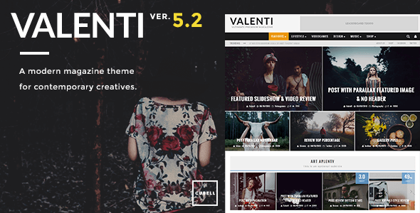 Download Valenti - WordPress HD Review Magazine News Theme nulled download