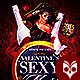 Valentines Sexy Night Flyer