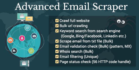 Advanced Email Scraper (Search) Download