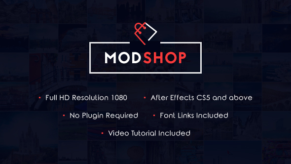 ModShop - eCommerce Promotional Video (Commercials)