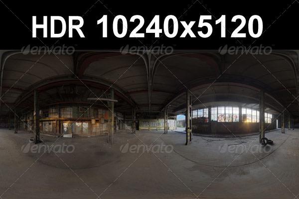 3DOcean Industry Ruin 07 HDR 1448501