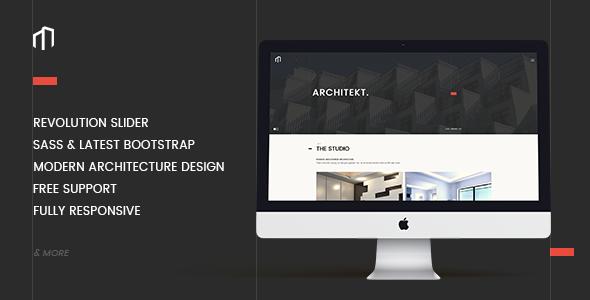 ARCHITEKT – Architecture Bootstrap Template (Business) Download
