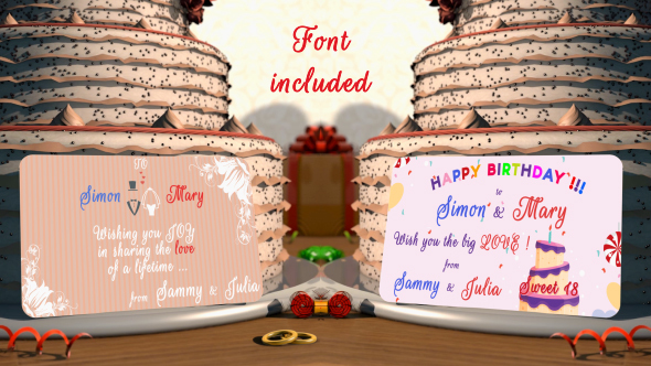 Download Happy Wedding and Birthday holidays nulled download