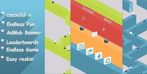 CodeCanyon The Wall Jumping Leaderboards Admob chartboost & RevMob 14495056