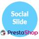 Social Slide - Responsive Prestashop Module