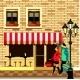 Small Sidewalk Cafe
