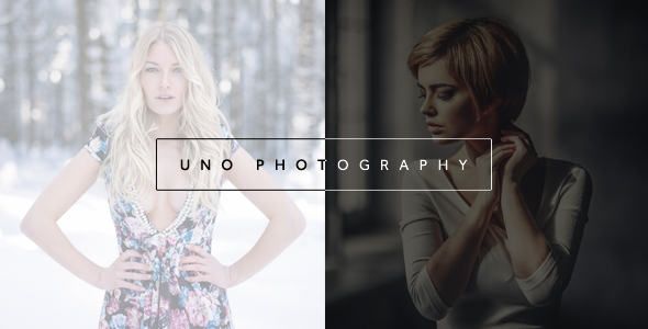 7 - Uno - Creative Photography WordPress Theme