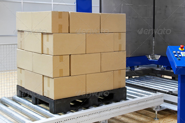 PhotoDune Pallet packing 1448596