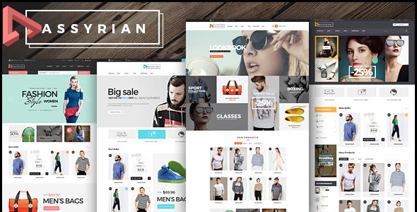 Assyrian - Fashion eCommerce Bootstrap Template