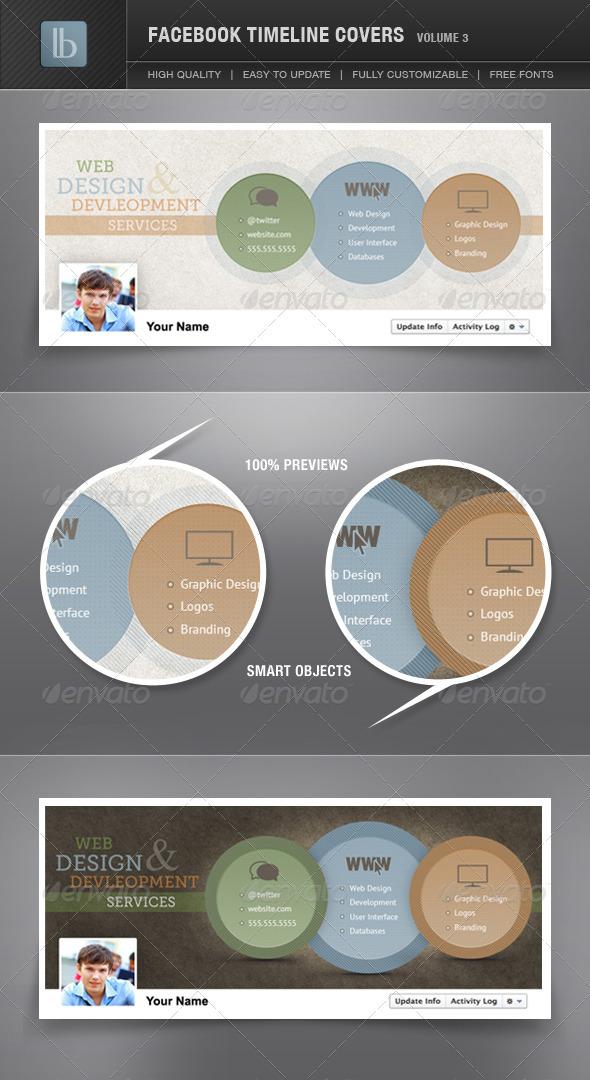 Facebook Timeline Covers | Volume 3 - Facebook Timeline Covers Social Media
