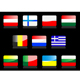 Glossy flags icons. - GraphicRiver Item for Sale