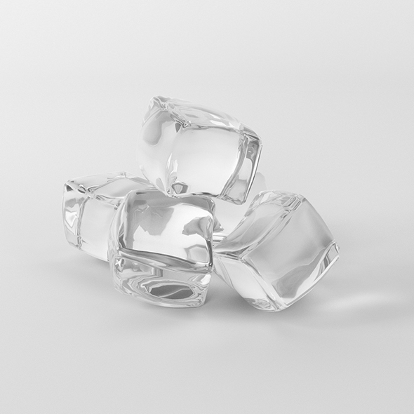 ice cubes - 3DOcean Item for Sale