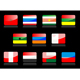 Glossy flags - GraphicRiver Item for Sale